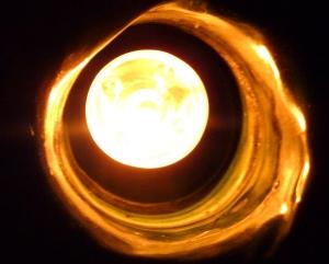 light in vessel