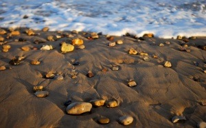 separation of stones and water