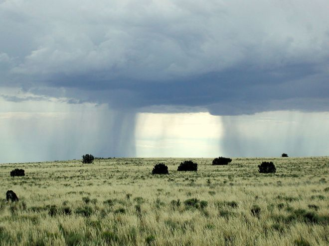 intermittent rain pattern